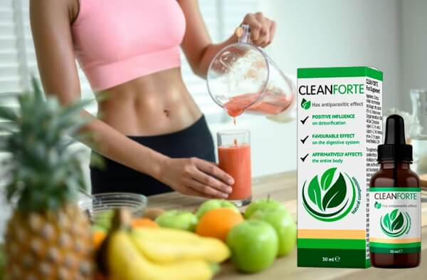 Effetto delle gocce Clean Forte - Effetti
